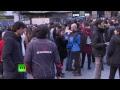 EN VIVO: Protesta en Madrid tras la muerte de un vendedor ambulante senegalés