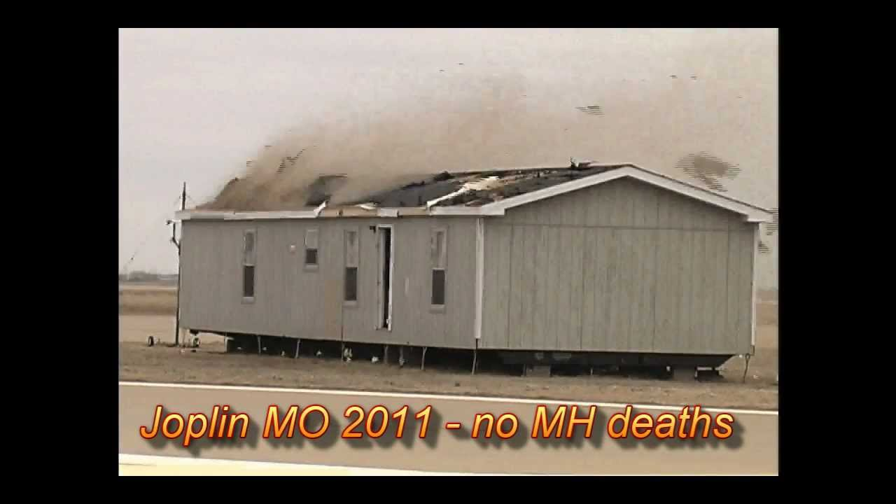 manufactured home hita tornado and high winds - youtube
