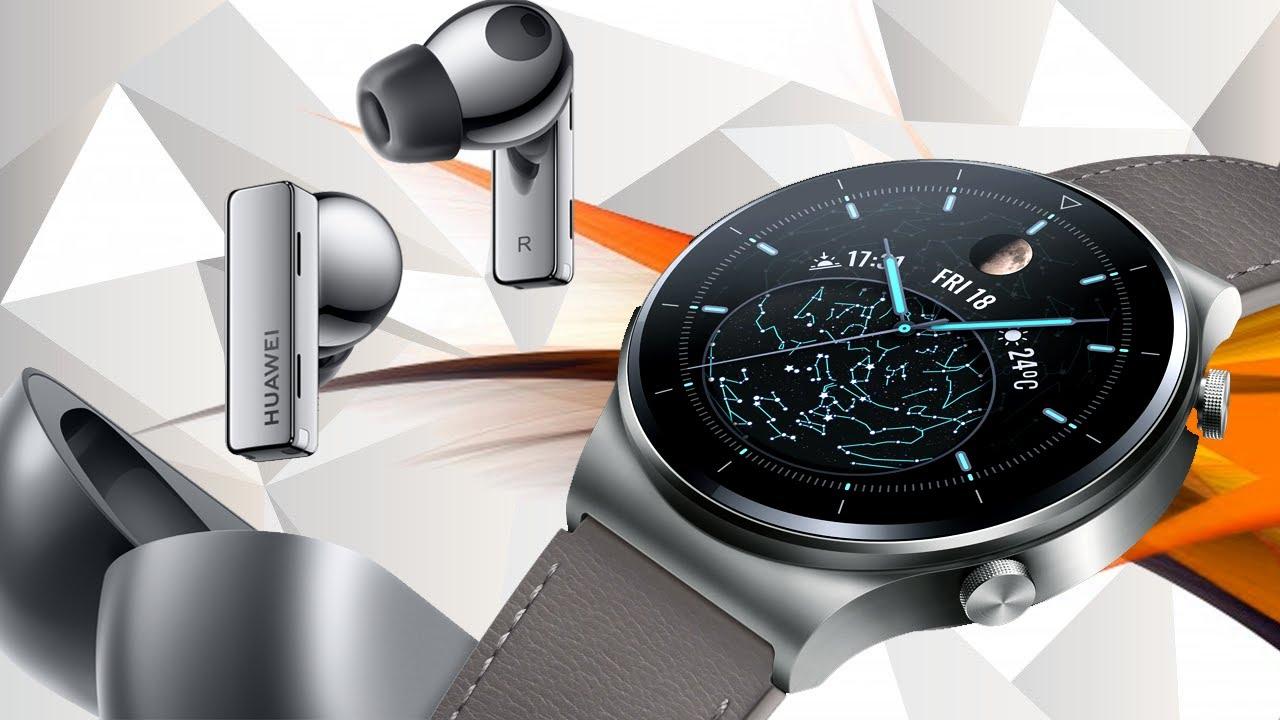 FreeBuds Pro и Watch GT 2 Pro - Huawei продолжают удивлять! + анонс конкурса!