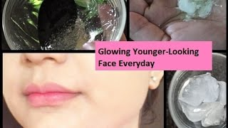 HOW TO WAKE UP WITH GLOWING & YOUNGER-LOOKING FACE (5 NIGHT-TIME SECRETS )