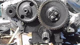 видео Ремонт двигателя д 240