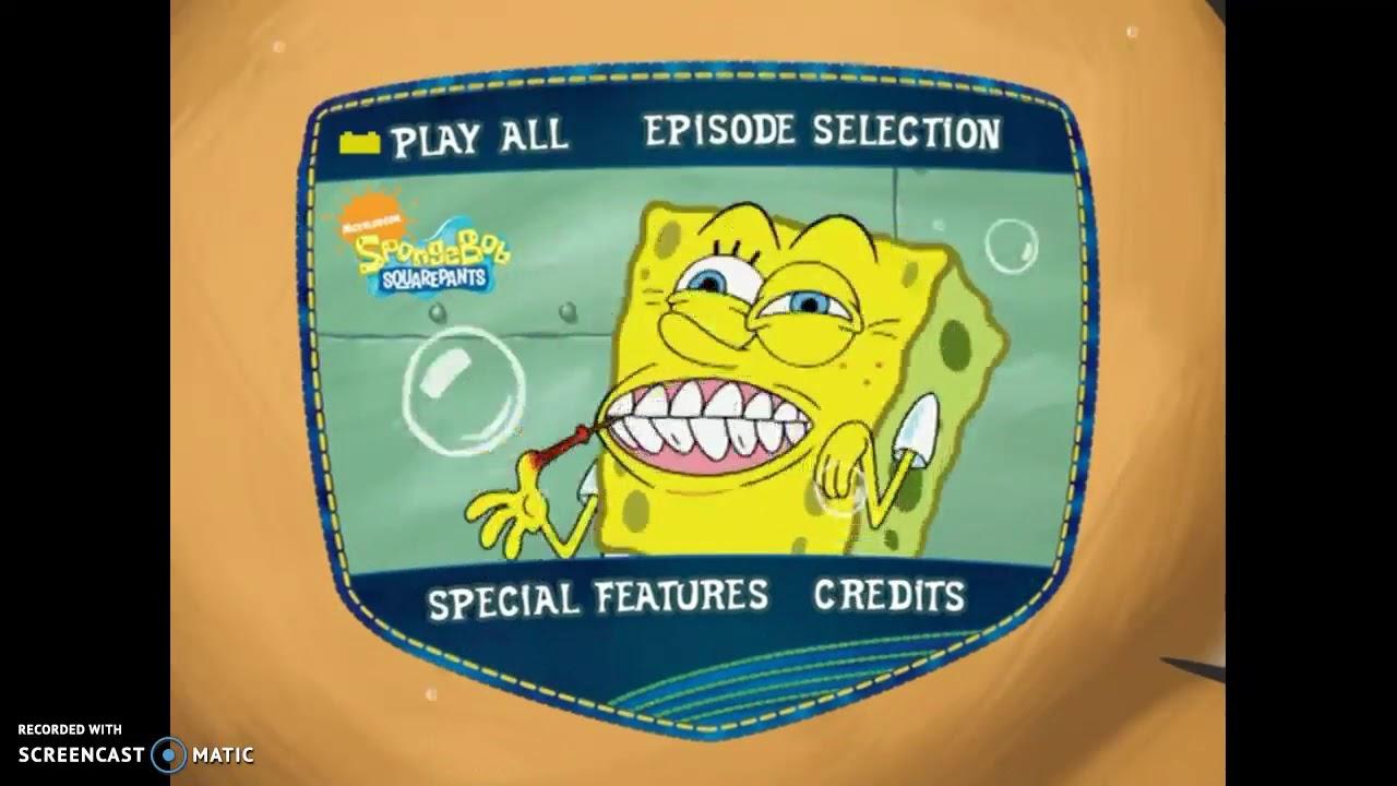 Spongebob Squarepants To Squarepants Or Not To Squarepants Dvd