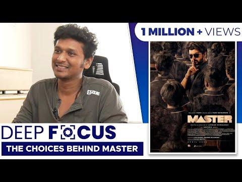 Lokesh Kanagaraj Interview | Deep Focus: The Choices Behind Master | Vijay | Sethupathy | With Subs