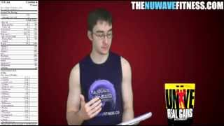 Supplement Review: Universal Nutrition Real Gains Weight Gainer