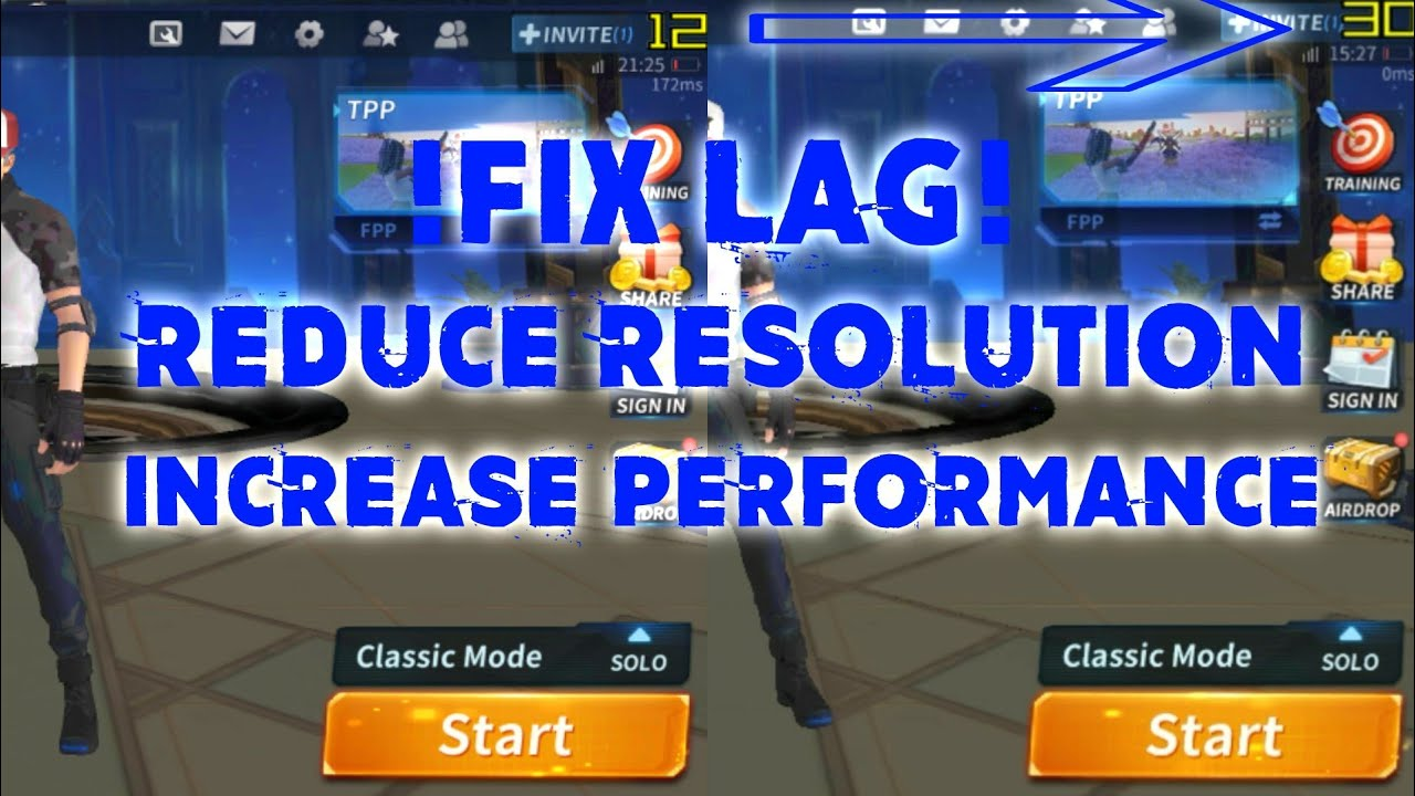 How to fix lag Creative Destruction by reduce resolution