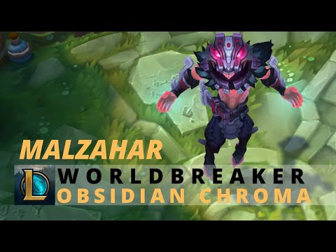 Worldbreaker Malzahar Obsidian Chroma - League Of Legends