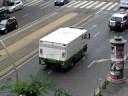 MNB-konvoj a Teréz körút-Király utca sarkán