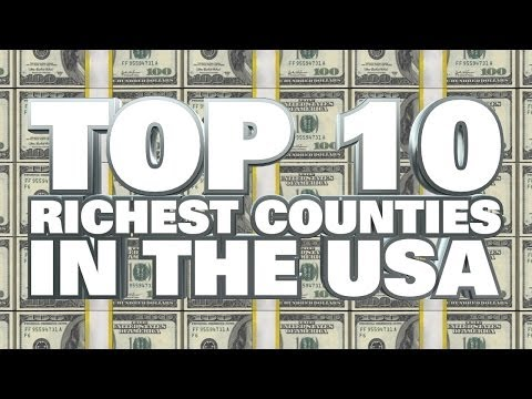 Top 10 Richest Counties in the United States 2014