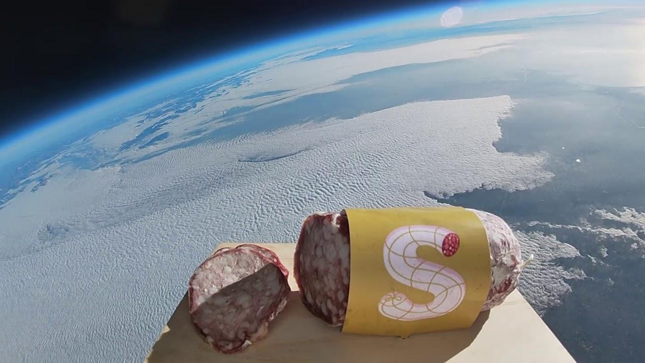 Risultati immagini per salame nello spazio