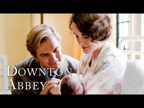 A Baby And Matthew Dead On The Road | Downton Abbey