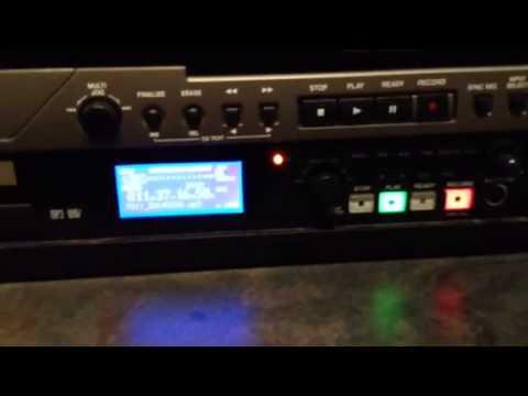 Tascam Flash Recorder: 24hr Sync Recording