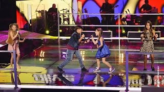 vuclip Olivia, Anthony & Tamara and Alexa Sing Stop | The Voice Kids Australia 2014
