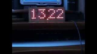 Часы бегущая строка(ЧАСЫ ЭЛЕКТРОННЫЕ СВЕТОДИОДНЫЕ БЕГУЩАЯ СТРОКА. СхХЕМА И ОПИСАНИЕ: ..., 2013-11-01T07:09:47.000Z)
