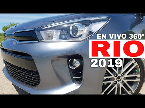 🔴Nuevo KIA Rio 2019  ¿Mejor Auto Compacto?  360°