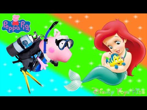 PEPPA PIG E PIG GEORGE  - O SUBMARINO IMAGINEXT E O ENCONTRO COM A SEREIA PARTE 02! EM PORTUGUES