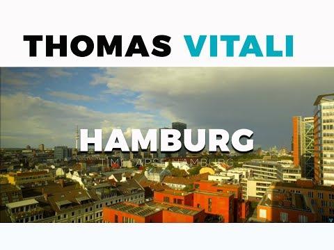 Timelapse of Hamburg view to Reeperbahn St. Pauli (Germany) Film