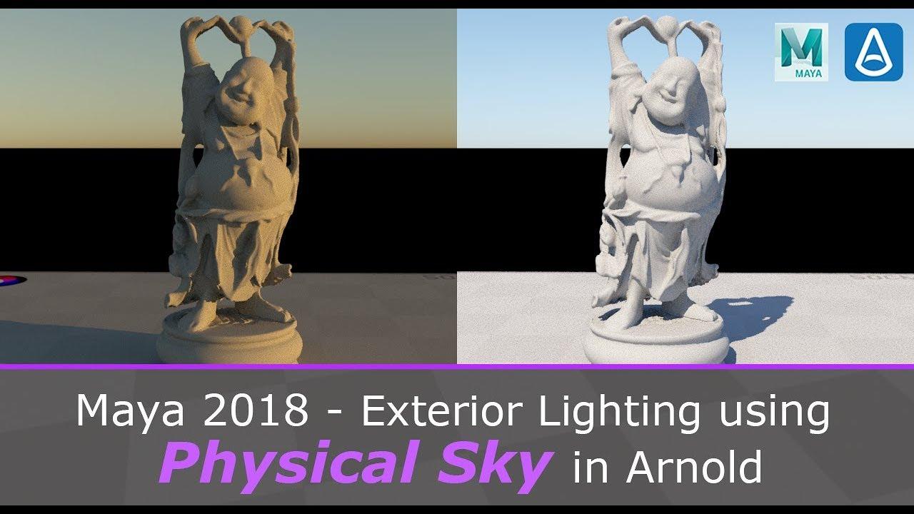 Video Series: 3D Lighting using Maya's Lights!