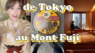 Premiers jours au Japon : de Tokyo au Mont Fuji !