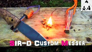 SIR - D Bushcraft Messer - Outdoor Bavaria Review - HD/HQ