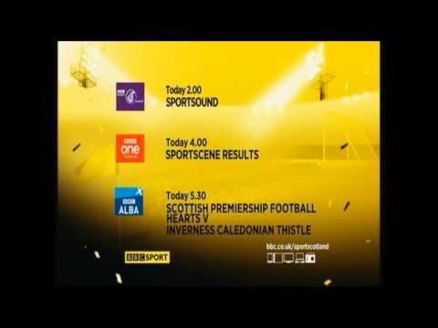 BBC Scotland Football Menu 14 12 13