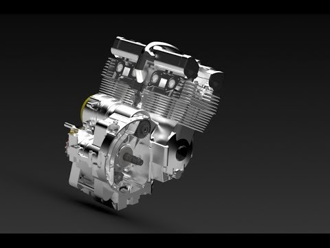 HEIA-FR P1 : Yamaha XJ 600 Motor Reverse Engineering