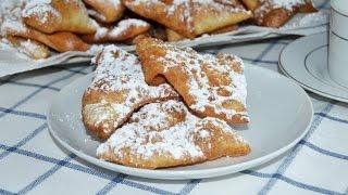 Carnival Ears (Spanish Dessert) - Easy Fried Dough Dessert Recipe
