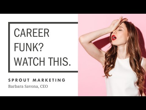 FB Live: 3 Things to Ditch if You're in a Career Funk