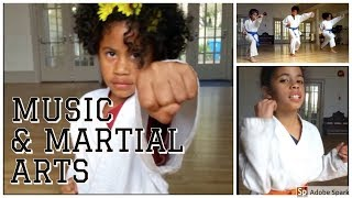 MUSIC & MARTIAL ARTS, a day in the life of THE CURTIS FAMILY CNOTES