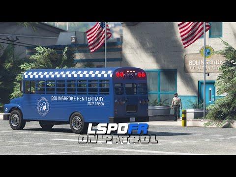 LSPDFR - Day 352 - Prison Bus Patrol