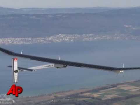 Swiss Test of Round-the-world Solar Plane