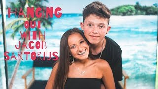 I ATE LUNCH WITH JACOB SARTORIUS..AGAIN!! (Footage) || Brooke Sanchez