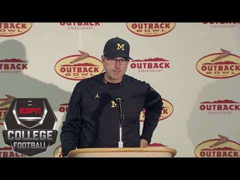 Jim Harbaugh addresses possible NFL future after Michigan's bowl loss to South Carolina | ESPN
