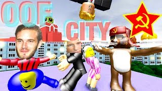 """OOF CITY"" Roblox Music Video Parody of Vice City by DJ Blyatman & Hard Bass School"