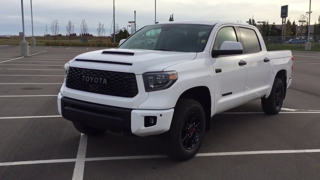e2b6eaecc8b 2019 Toyota Tundra TRD Pro Review - YouTube