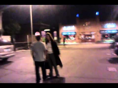 Drunk Girl at Circle Bar in Santa Monica