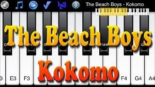 The Beach Boys - Kokomo - Learn To Play Piano Melody