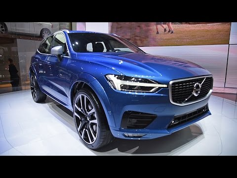 2018 Volvo XC60 First Look - 2017 Geneva Motor Show