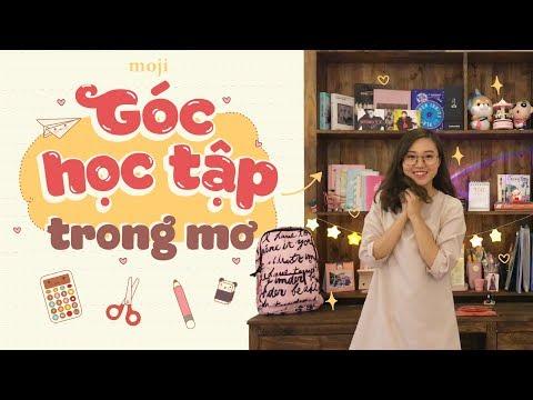 GỢI Ý TRANG TRÍ GÓC HỌC TẬP ĐẸP NHƯ MƠ - Moji Channel