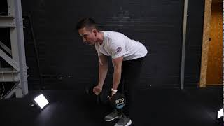 Dumbbell Bent Over Row Underhand Grip