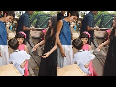Here's How Aamir Khan's Son And Aishwarya Rai Bachchan's Daughter Aaradhya Greeted Each Other