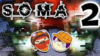 SOMA: Spooky Robots - PART 2 - Steam Train