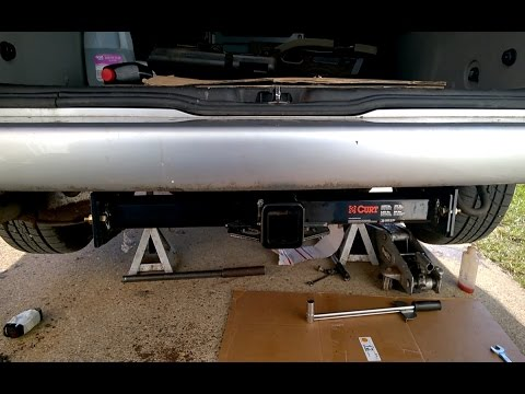 Trailer Hitch Install and Wiring: CURT 13217 on VW Eurovan