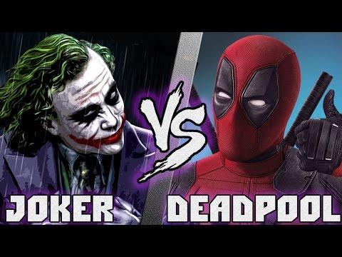 Джокер Vs Дедпул /Joker (DC) Vs Deadpool (Marvel) - Кто кого? [bezdarno]