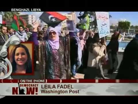 Leila Fadel of The Washington Post Reports Inside War-Torn Libya