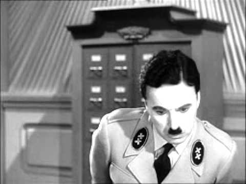 Charlie Chaplin - The Great Dictator - The typist scene