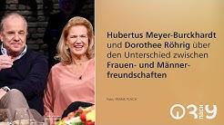 Hubertus Meyer-Burckhardt und Dorothee Röhrig im ersten gemeinsame Talkshow-Auftritt // 3nach9