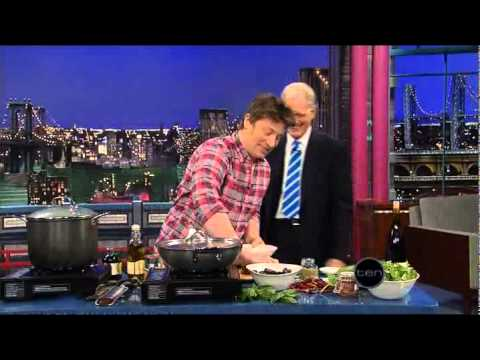 Jamie Oliver (Letterman)