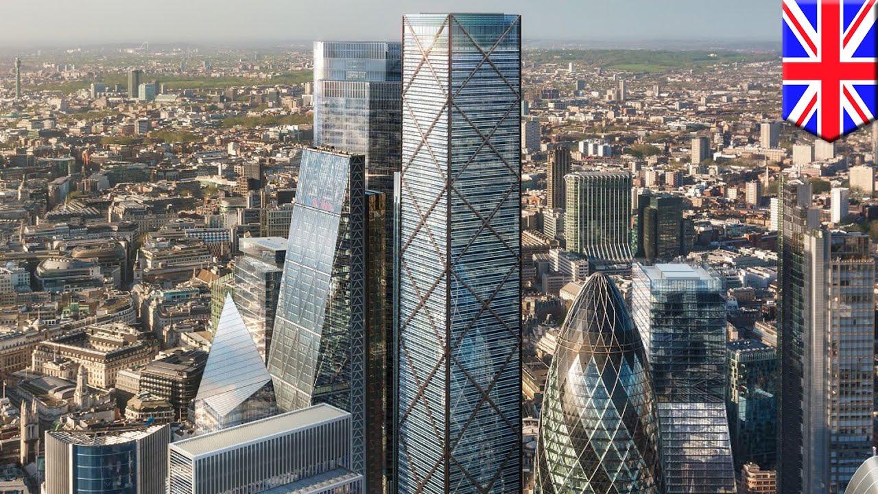 arquitectos revelan sus planes para construir el edificio mas alto de londres