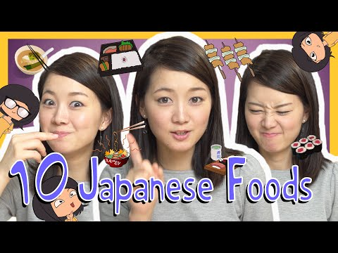 Learn the Top 10 Japanese Foods (Việt Sub)
