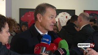 Ekspozita e albumit  'EURO 2016', De Biasi në Tiranë: Shpresoj ta shoh sërish Shqipërinë në Europian